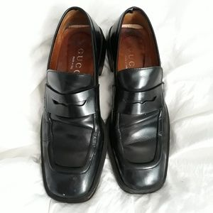 Gucci Black Loafers 8.5